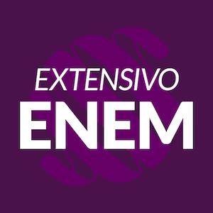 Banner com link para o curso Extensivo ENEM.