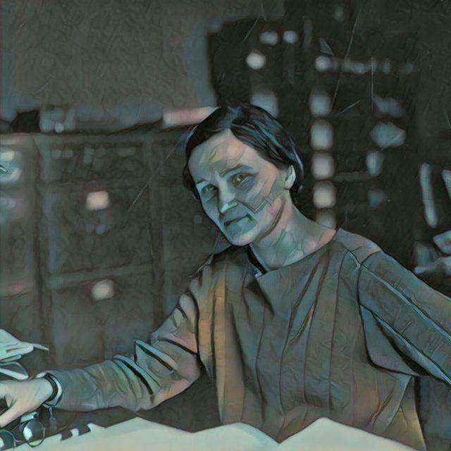 Imagem adaptada de um foto de Cecilia Payne-Gaposchkin.